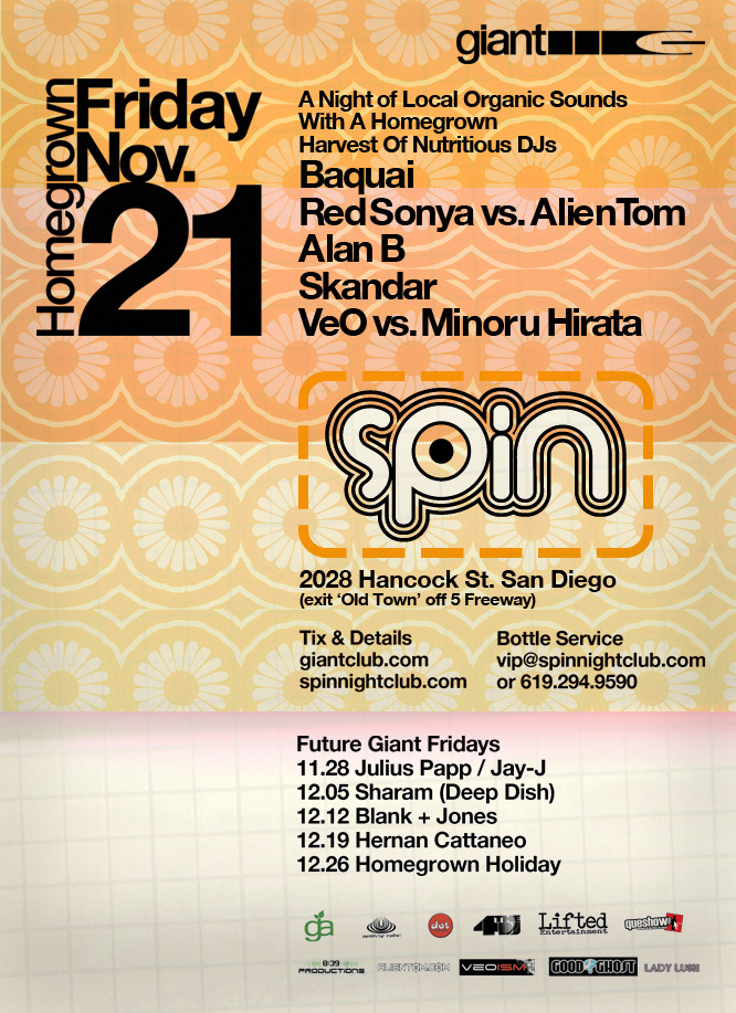 Spin Nightclub Giant Fridays